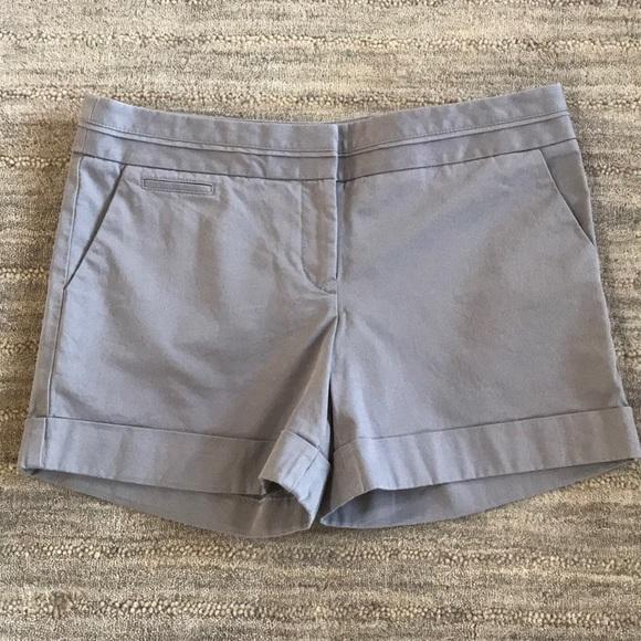 Express Pants - NWOT Express light gray cuffed shorts, size 8
